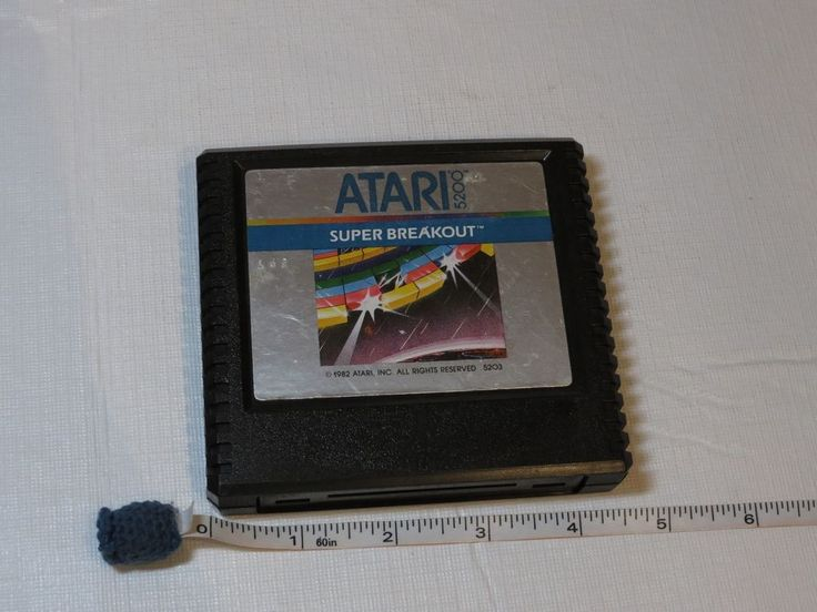 Atari 5200 game cartridge only Super Breakout Break OUT vintage RARE 1982 video