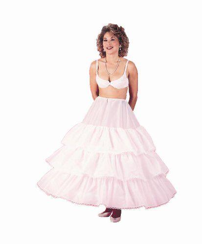 New Cotton 3 Bone Adjustable Hoop Skirt Bridal Petticoat Wedding Gown Slip 135DSC Made