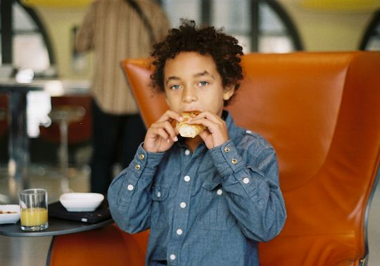 Julez Smith, Solange Knowles' son.  I need my child to look like this.