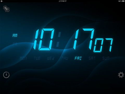 Alarm clock & Sleep timer, reloj despertador para iPad o iPhone