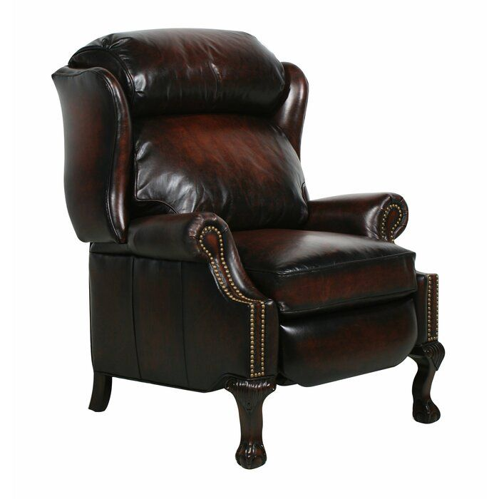 Donatella Genuine Leather Recliner Leather Recliner Recliner Recliner Chair