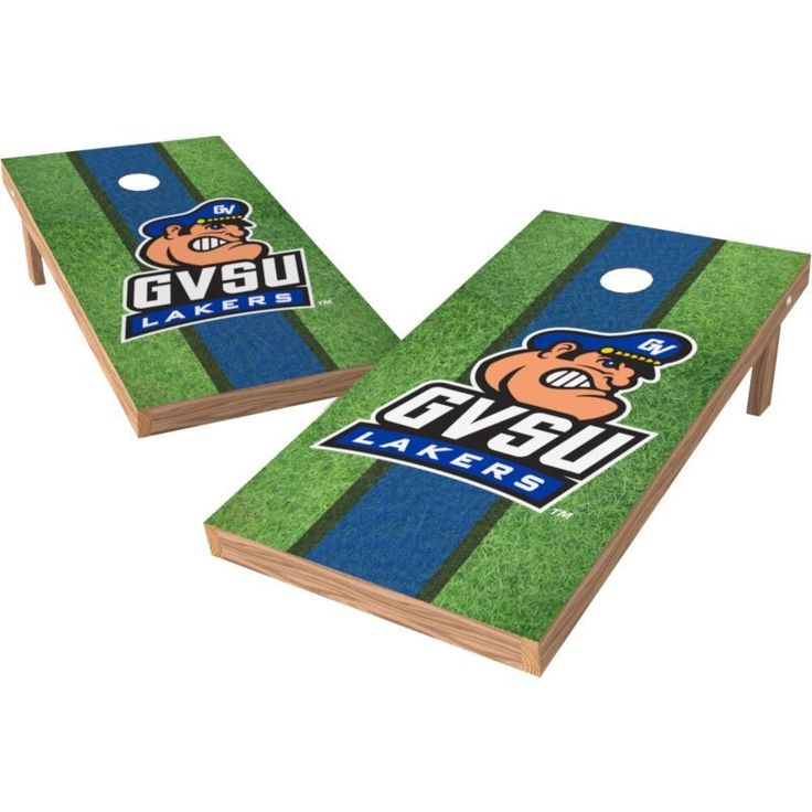 Wild Sports 2' x 4' Grand Valley State Lakers XL Tailgate Bean Bag Toss Shields