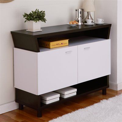 Leann Buffet Sideboard The Is Offered In A Cappuccino White Duotone Or Buffets FurnitureDining Room