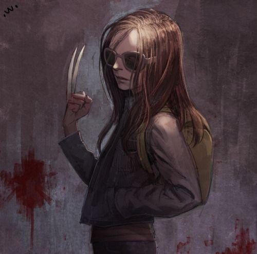 'Logan'-Laura – fan art by Sung Uk Kim