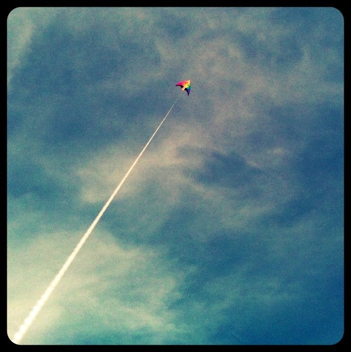 Provincetown kite flying...