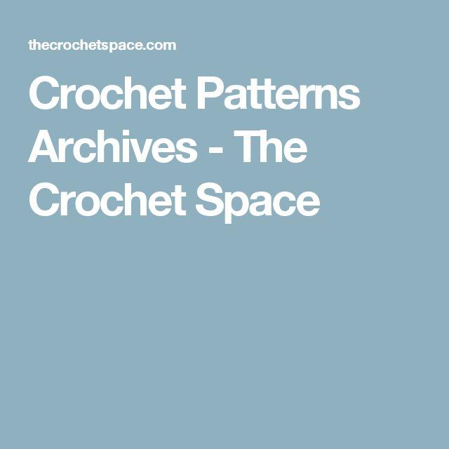 Crochet Patterns Archives - The Crochet Space