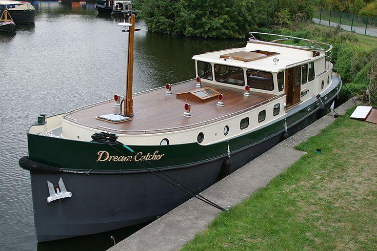 Houseboat Barge | Walker Boats Dutch Barge for sale in Leeds, Yorkshire then Thames ...