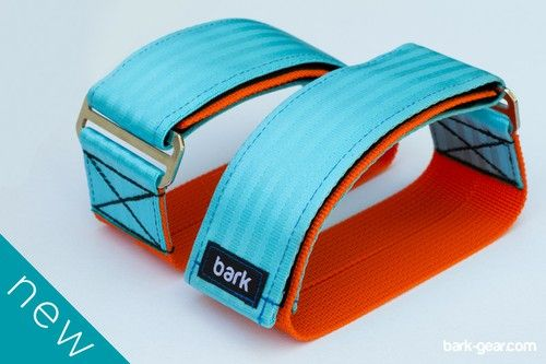 Pedal straps / UPGRADE COLOR - GULF