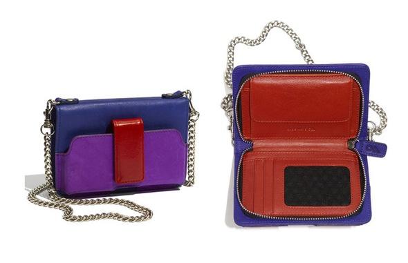 iPhone wallets: Case-Mate Colorblock Kayla Crossbody Wallet.