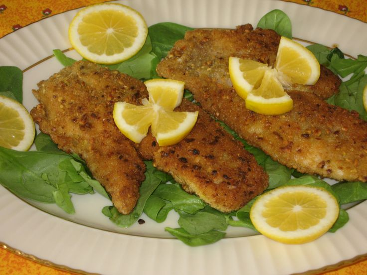 Pistachio Crusted Red Snapper