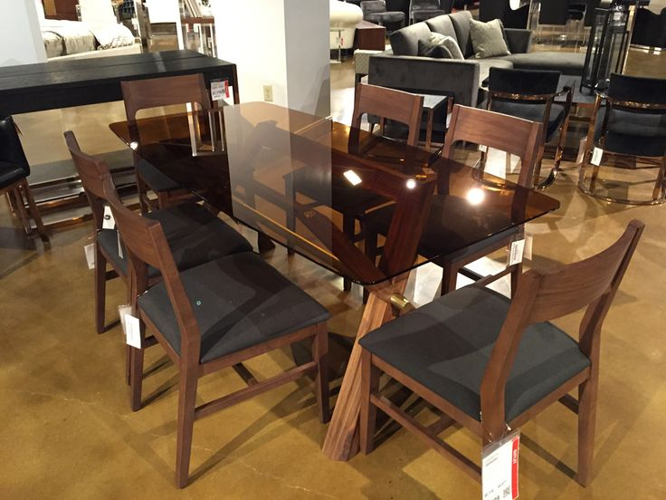 Melvin Seven Piece Dining Room Set | from Furnitureland South - W 21´´ D 21´´ H 34´´