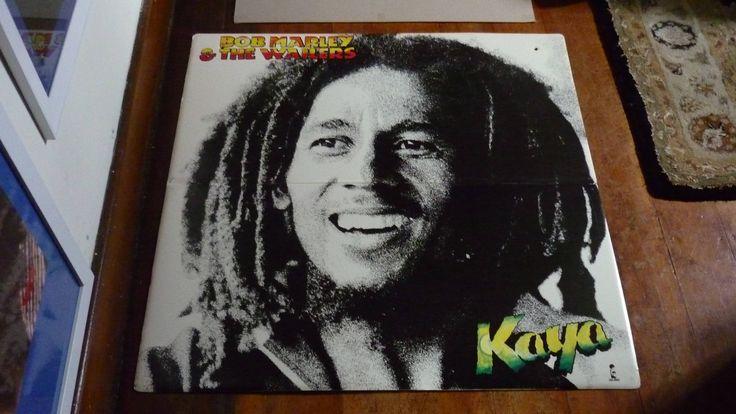 "Bob Marley ""KAYA"" Island Records 1978 Original Rare Vintage Record Shop Display Cardboard  Poster by RockPostersTreasures on Etsy"