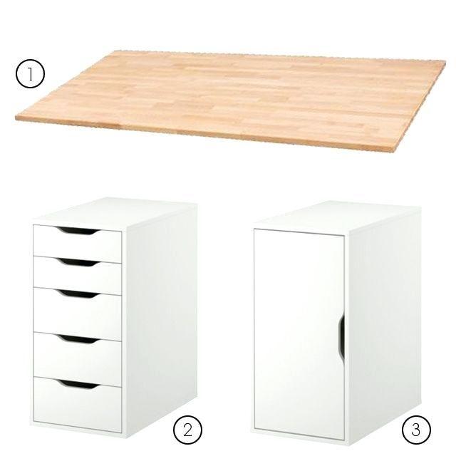 Ikea Bureau Ikea Office Drawers Homegramco Craft Room Office Home Office Design Custom Desk