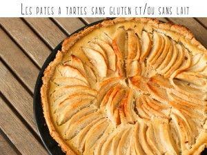 les pâtes à tartes sans gluten