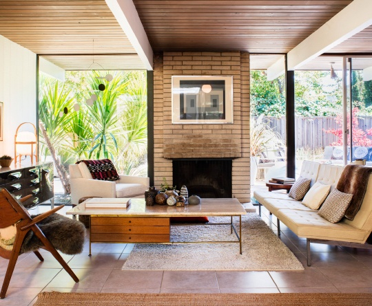 My House  A furniture collecting duo gets the opportunity to show off their mid-century finds in an original Northern California Eichler. Photo by Drew Kelly | Dwell