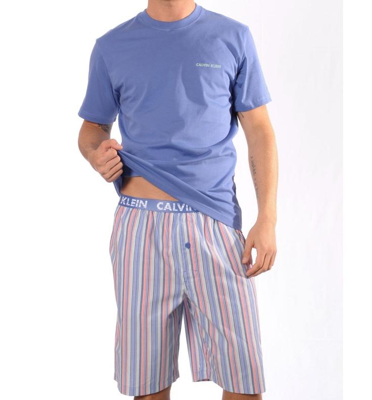 Pijama Hombre Calvin Klein Corto M9470E-5VS