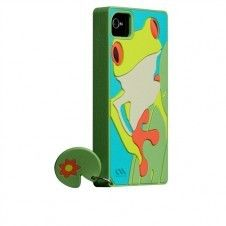 Cute frog inspired Creature Case-Mate for your iPhone4, 4s