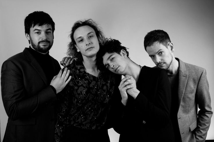 The 1975 // Backstage at the 2016 Mercury Prize