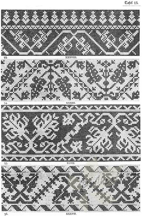 Gallery.ru / Фото #56 - Old Italian Patterns for Linen Embroidery - Dora2012