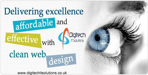 Our #webdesign have an awareness of usability and our guidelines involve creating mark up then they are also expected to be up to date with #web accessibility guidelines. For More Detail please visit At www.digitechitsolutions.co.uk