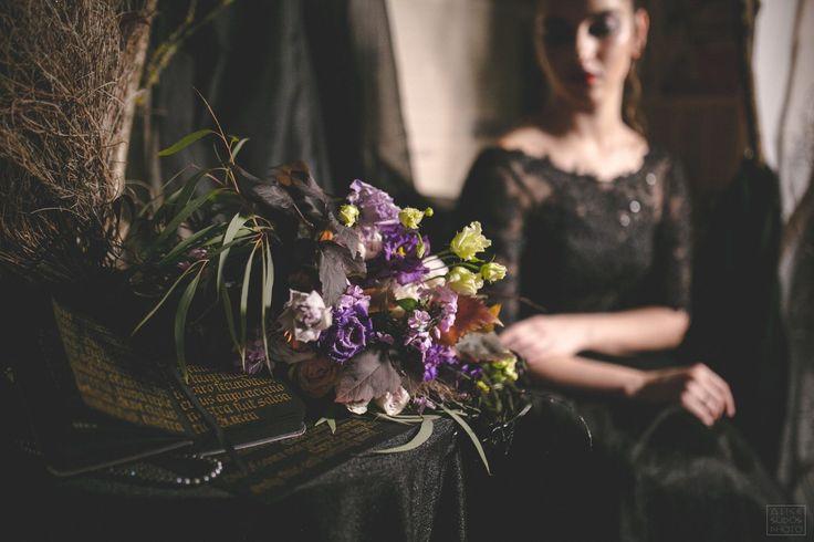 Halloween wedding – 32 фотографии