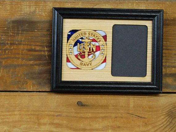 5x7 us navy picture frame military picture frame laser engraved picture frame collage