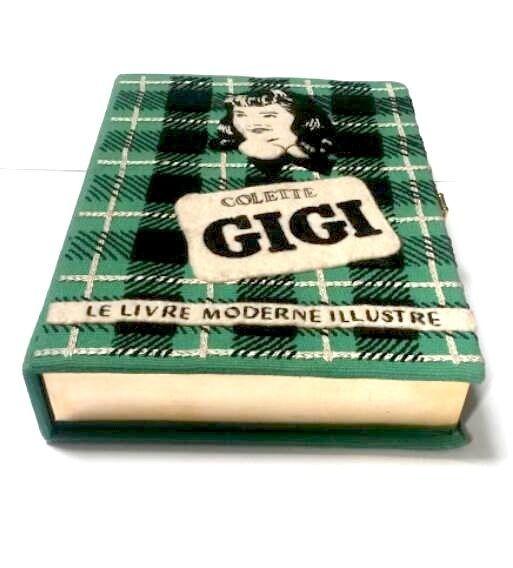OLYMPIA LE-TAN GENUINE GIGI COLETTE BOOK CLUTCH BAG RARE Ltd EDITION MINAUDIÈRE!  | eBay
