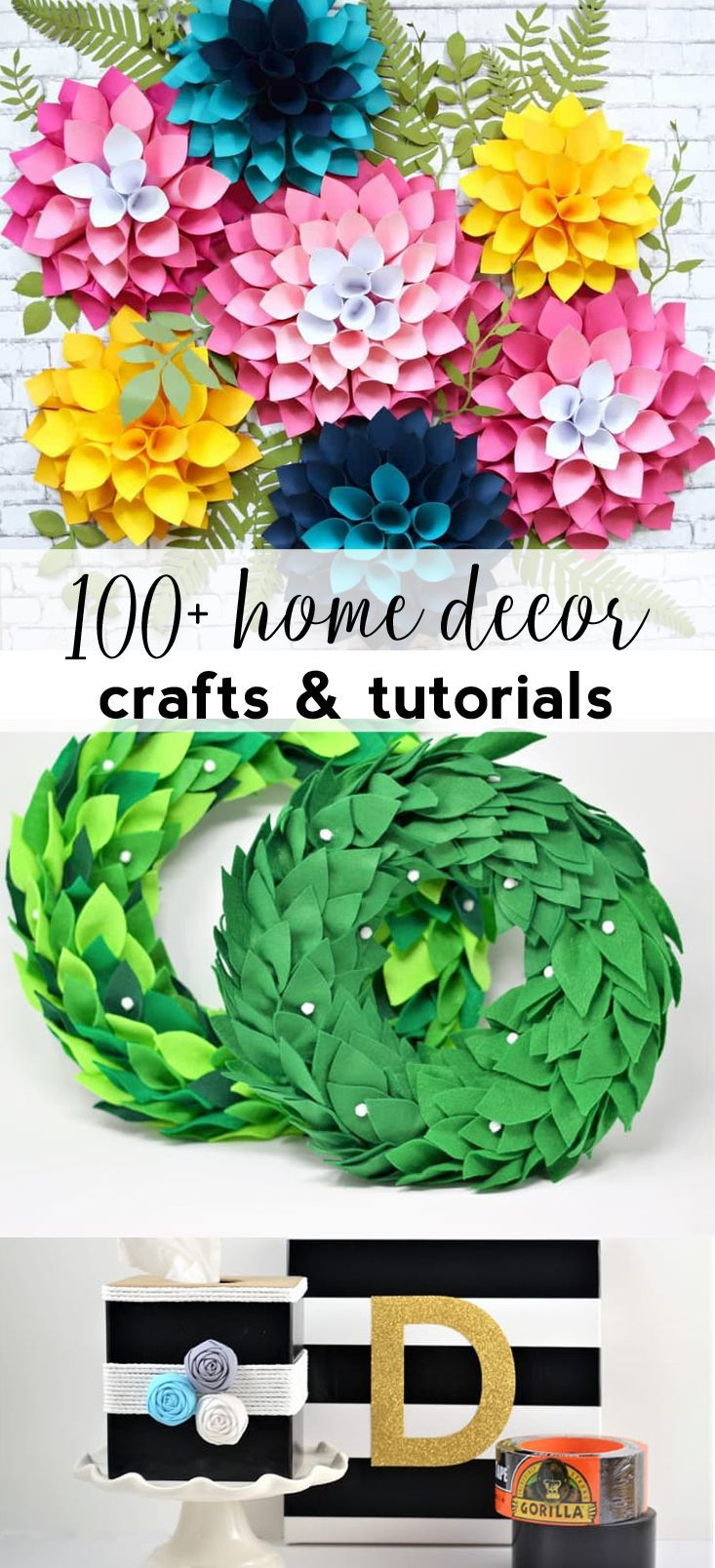 Home Decor Ideas Wall Art Crafts Diy