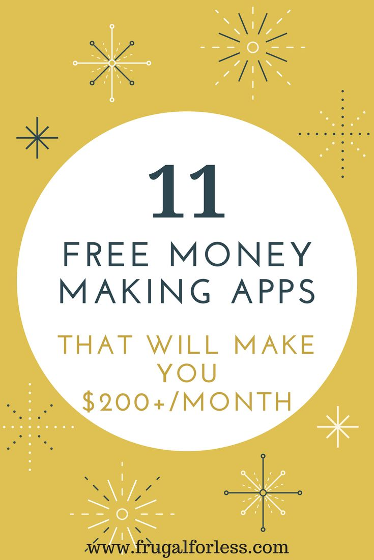 Read on to find out about 11 free money making to earn cash fast. All of these apps are 100% free and are a great way to make money from home or make money online. Most of these apps won't take up much of your time and they are all 100% free to join. When I was struggling to earn some cash working a minimum-wage job, these apps really helped me increase my side hustle. I can easily make $200/month or more with these apps.
