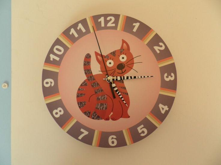 Macskás óra, Macskás óra., Falra-való