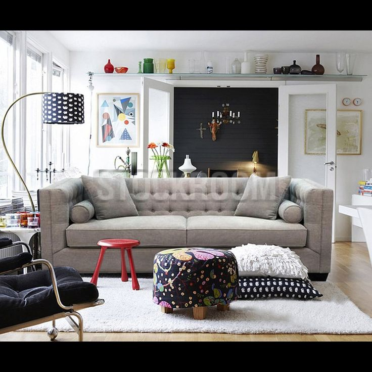 Italian Style 2 Seater Fabric Sofa By STOCKROOM Hong Kong Furniture Outlet Is On Sale Now All Sofas And Beds Are With Discount Price