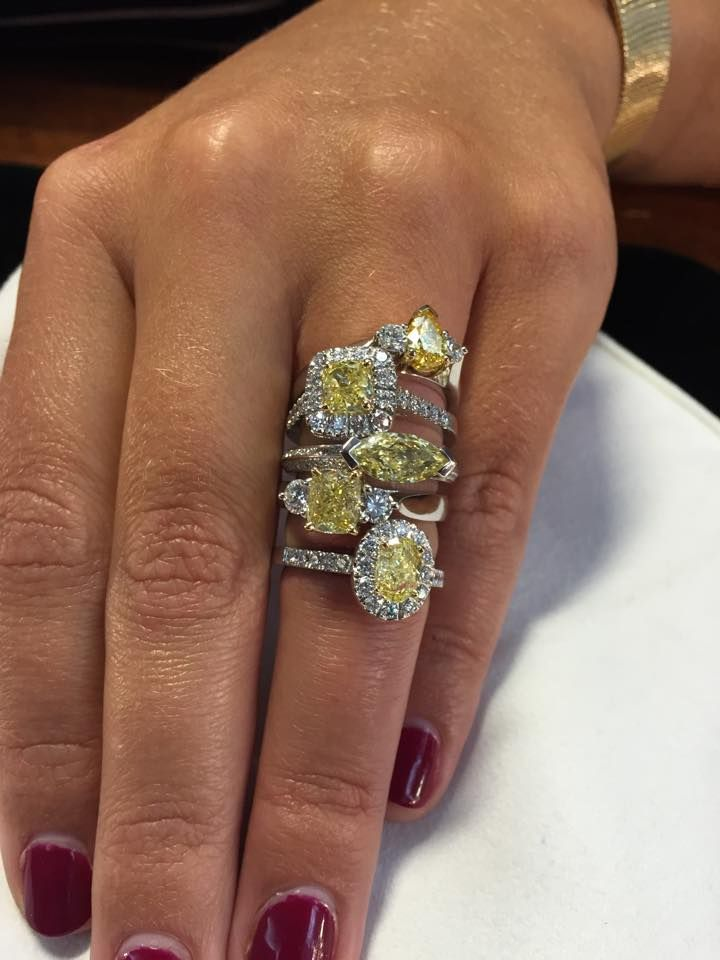 MDTdesign All New Australian Yellow Diamond Collection, which design do you like the best?