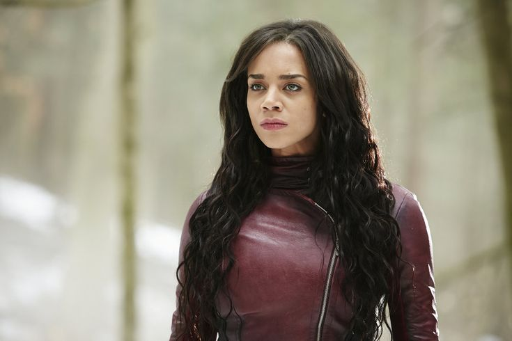 Hannah John-Kamen as Dutch in Killjoys, also known for Ready Player One (2018), Star Wars: The Force Awakens (2015)