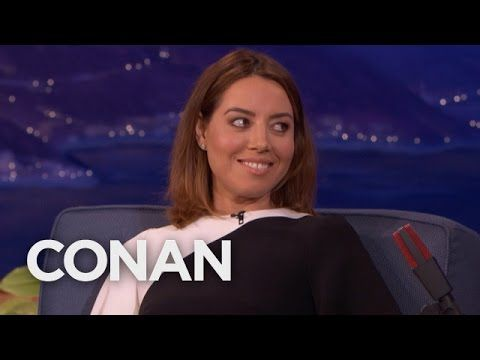 "Aubrey Plaza's ""Legion"" Role Was Meant For A Man  - CONAN on TBS - YouTube"