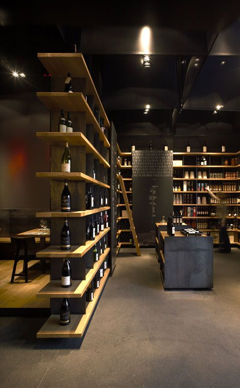 Retail design wine store bws liquor store retail for Modern wine bar design