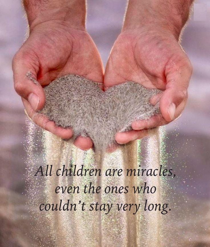 All children are miracles ...