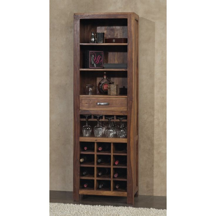 Modus Genus Solid Wood Wine Tower - Honey - 5A4673T
