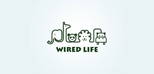 """Clever - animal shapes in wire """"Wire Life"""""""
