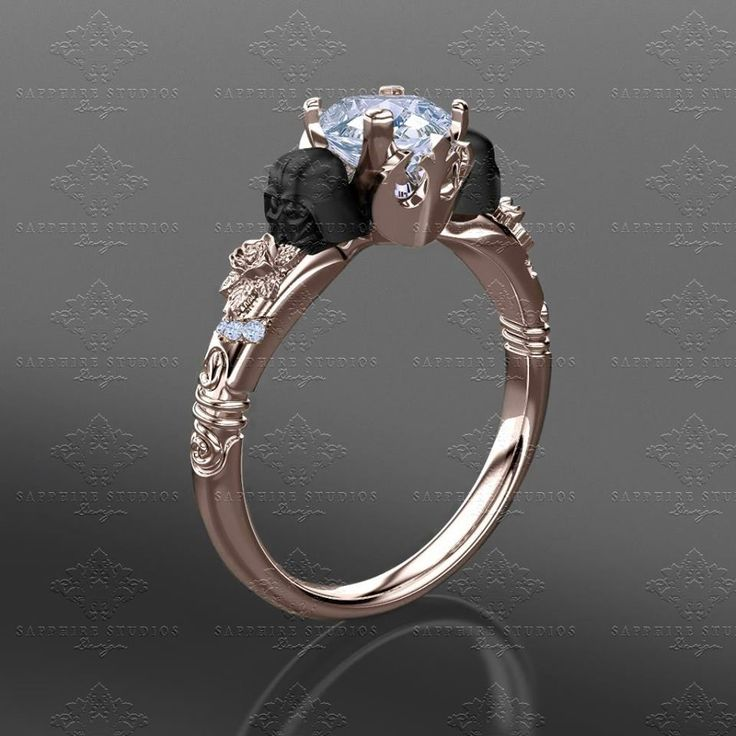 'Prevail' 1.10ct Rose Gold Inspired Star Wars Engagement Ring