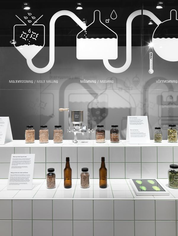 """Beer"" par Form Us With Love au Spritmuseum"