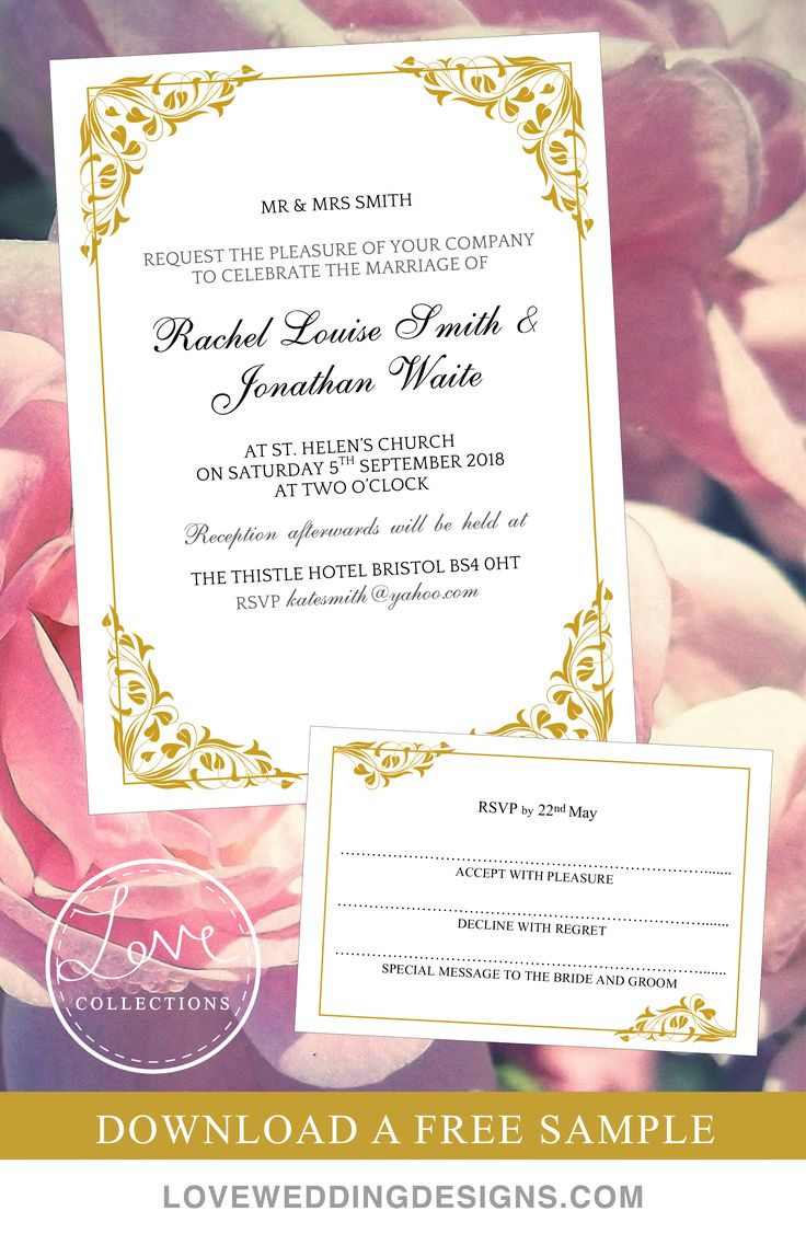 Wedding invitations wedding invitation purple gold ornate - Romantic And Beautiful Design With A Gold Plating Effect Adorning The Corners And Edges Making It Delicate And Ornate Matching Table Plan Program And