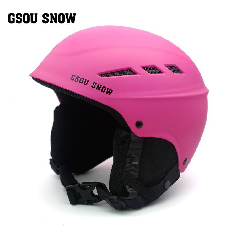 Gsou Snow Ski Helmet PC+EPS Ultralight High Quality Snowboard Helmet Men Women Children Skating Skateboard Skiing Helmet S/M/L