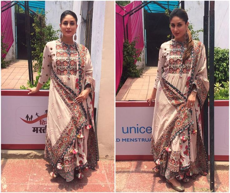 Kareena Wears Gorgeous Ethnic Outfit at an Event - FashionPro