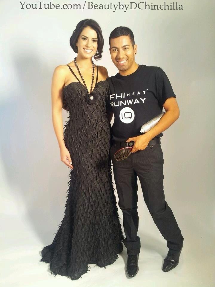 At Univision Miami with Vanessa De Roide :)