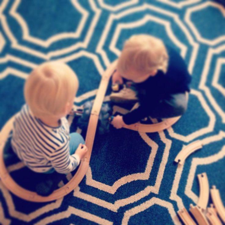 Twins #supernanny #twins #traintracks #sharing #love #cute #nanny #stripes