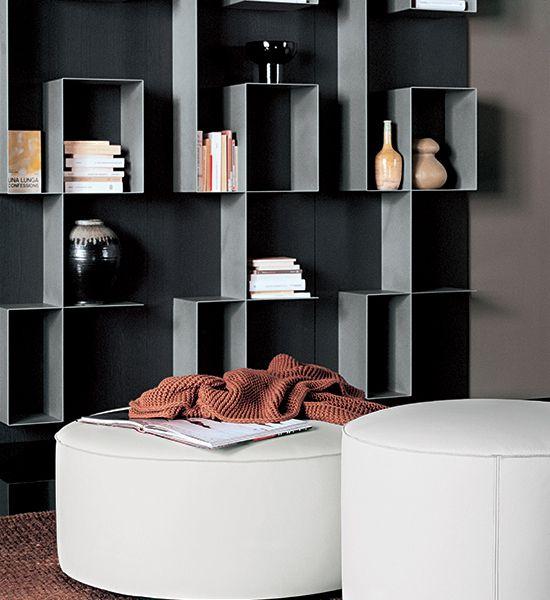 Pouf design, Pouff stile moderno, pouff elegante, pouff alta qualità - Tisettanta