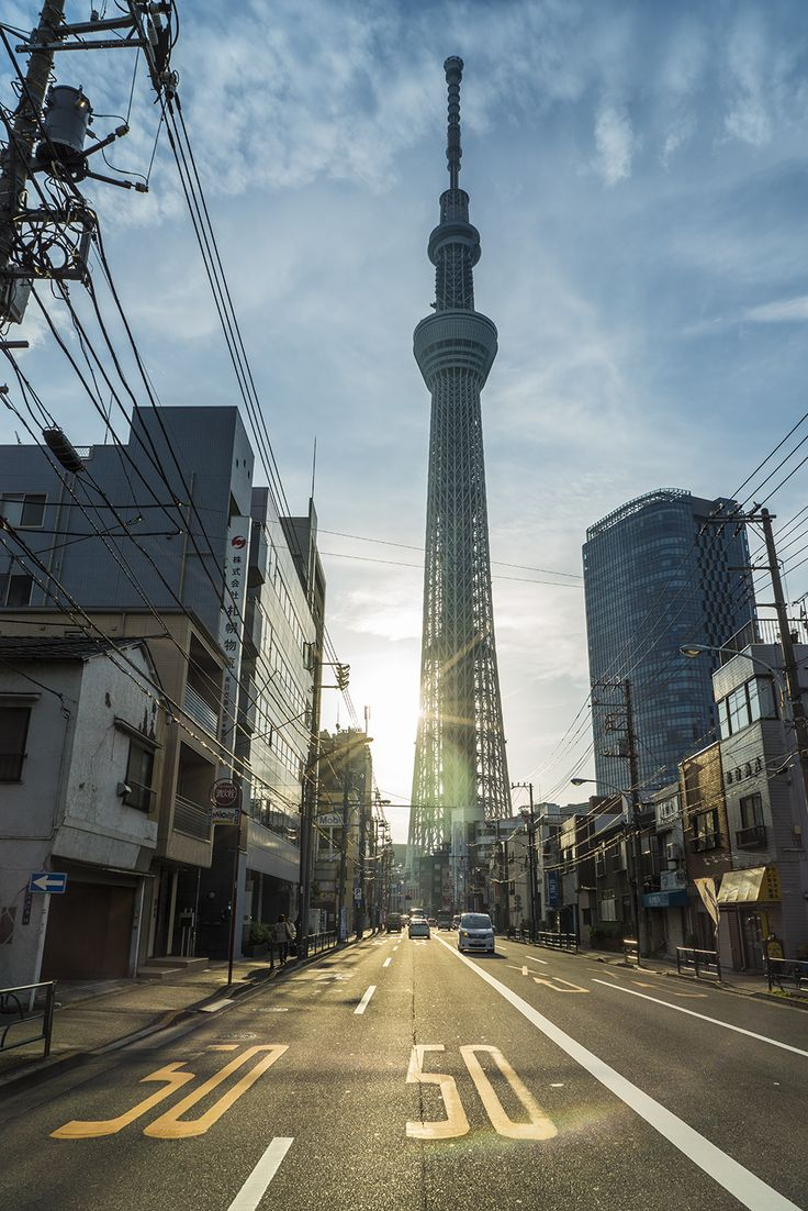 ourbedtimedreams: Skytree Tower by Mike Via Flickr: 押上 – おしあげ – Oshiage, Japan