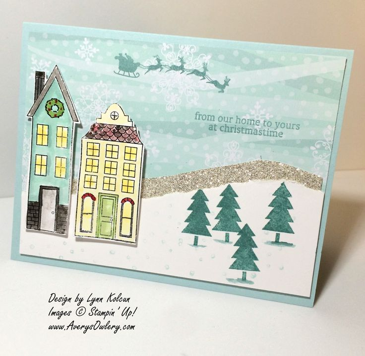167 Best Holiday Home Stamp Set By Stampin Up Images On