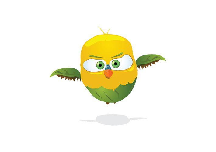 """Give me feedback on """"Bird Bird"""", a work-in-progress on @Behance :: http://be.net/wip/1527727/2618403"""