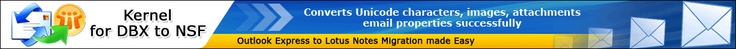 Kernel for Outlook Express to Notes - Animated Product Demo